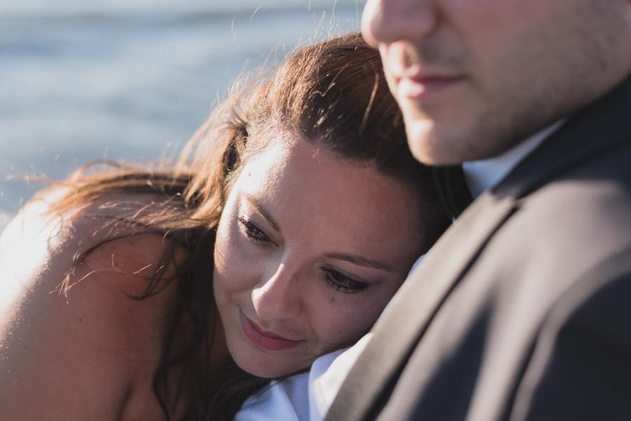 photographe aix en provence couple amoureux plage mer