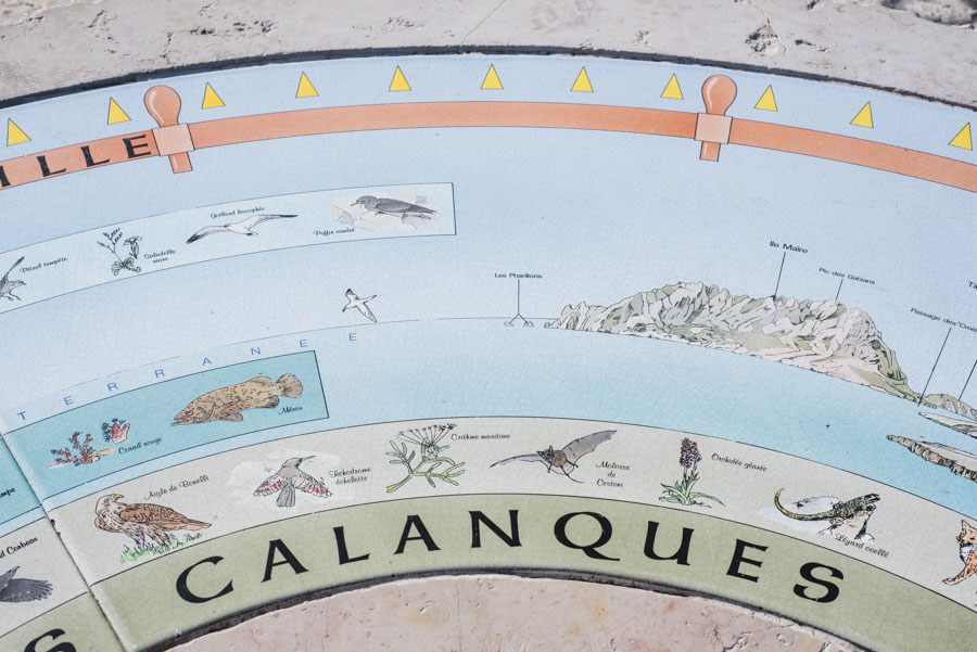 table orientation callelongue marseille calanque provence