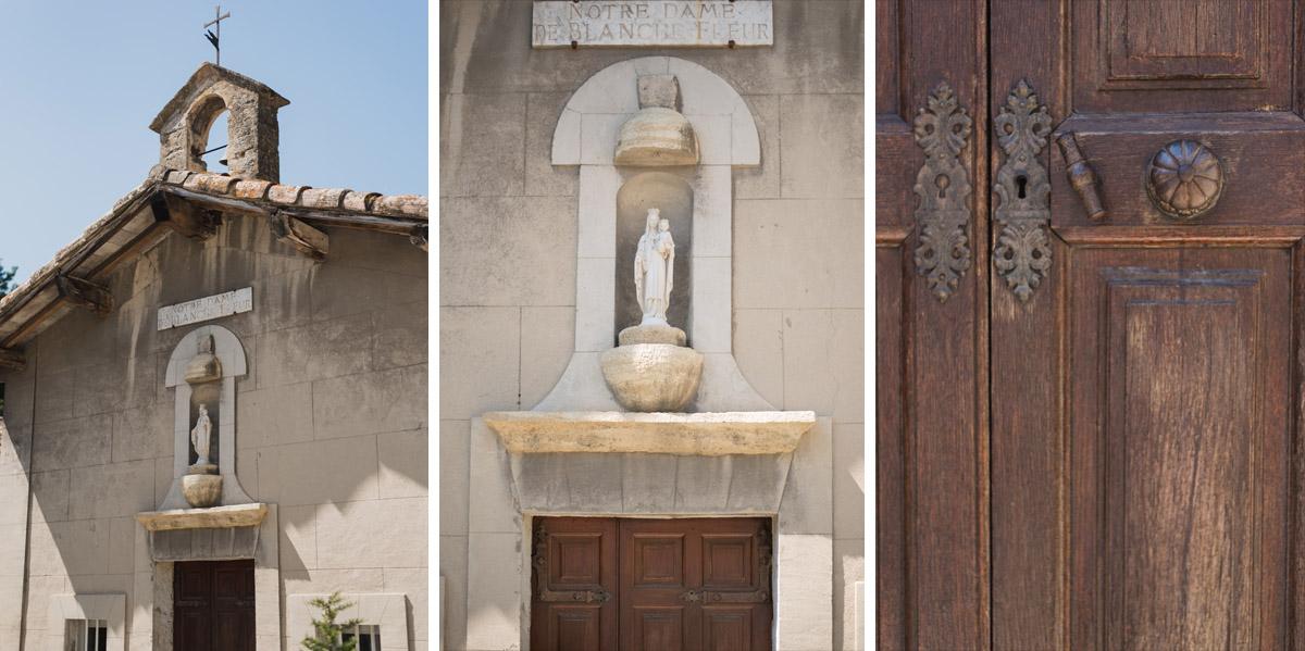 chapelle cérémonie laique domaine blanche fleur mariage vaucluse kristian photos