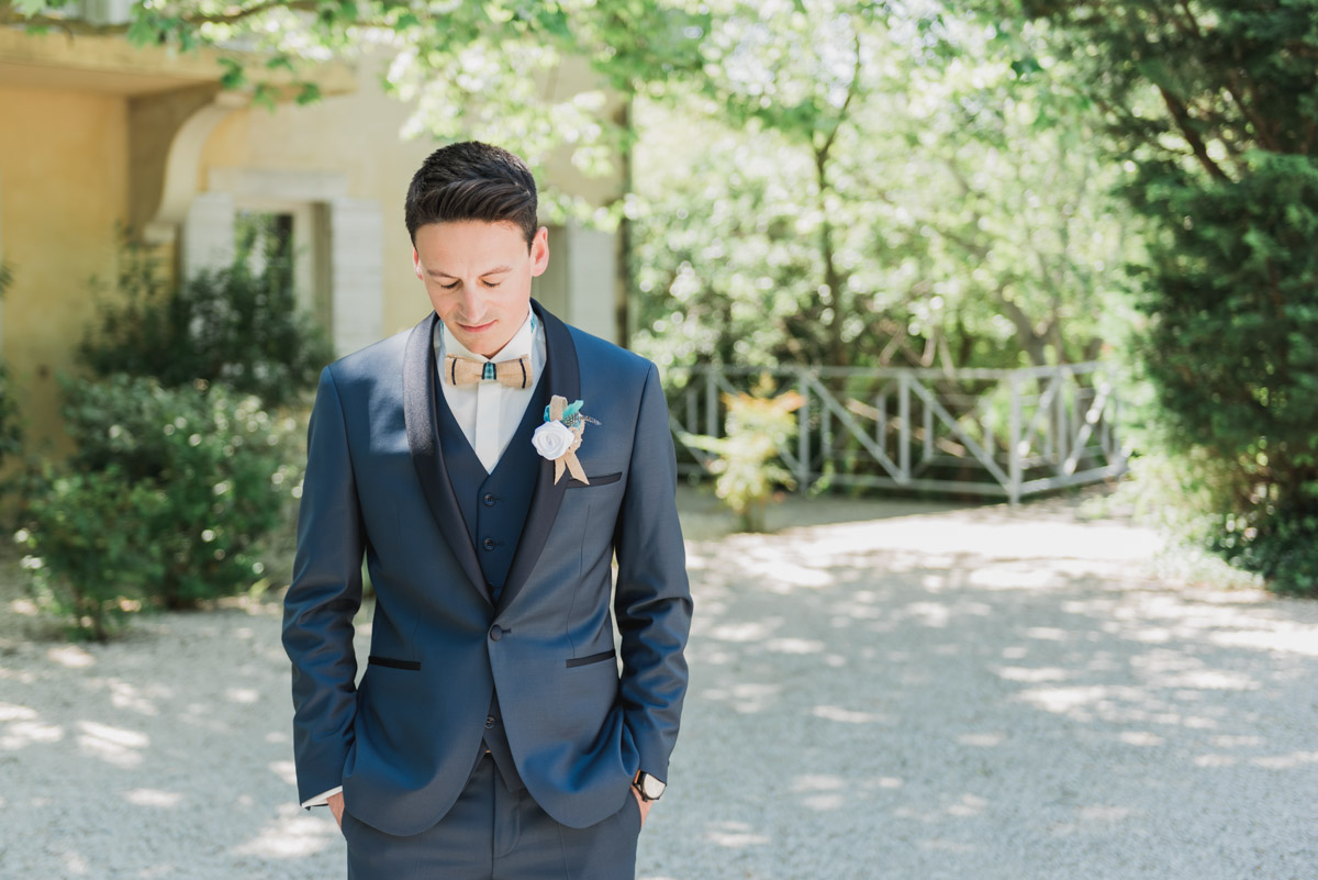 first look domaine blanche fleur photographe mariage vaucluse kristian photos