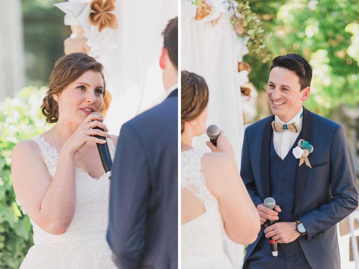 mariage ceremonie laique domaine blanche fleur vaucluse