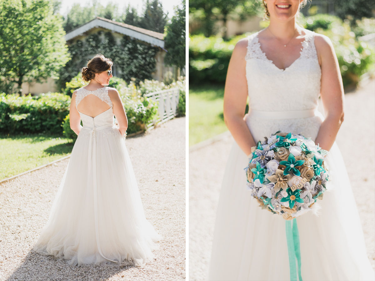 robe de mariée mariage provence kristian photos